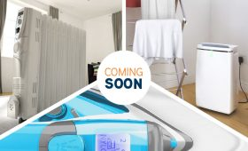 Vax dehumidifer, oil radiator and steam iron