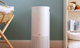 Air purifier in baby's room